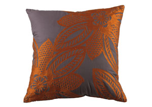 Wyler Orange Pillow,Signature Design by Ashley