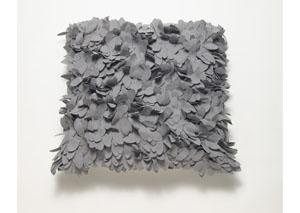 Gray Lilette Pillow
