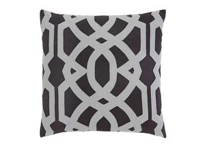 Charcoal Gate Pillow Cover