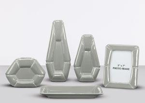 Gray 5-Piece Accessory Set