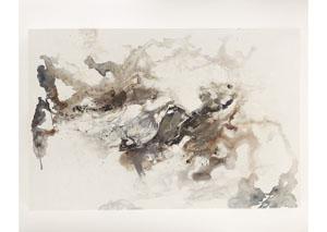 Gray/Brown/White Blue/Blk Annora Wall Art