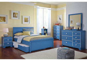 Bronilly Full Trundle Bed, Dresser & Mirror,Signature Design by Ashley