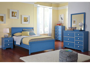 Bronilly Full Panel Bed, Dresser & Mirror,Signature Design by Ashley