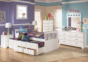 Lulu Twin Trundle Bed