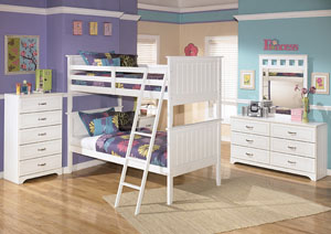 Lulu Twin/Twin Bunk Bed,Signature Design by Ashley