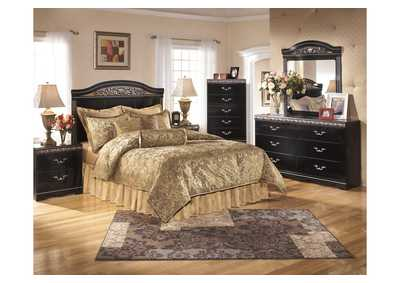 Constellations Queen/Full Panel Headboard, Dresser, Mirror & Night Stand
