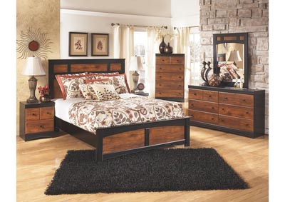 Aimwell Full Panel Bed, Dresser, Mirror, Chest & Night Stand