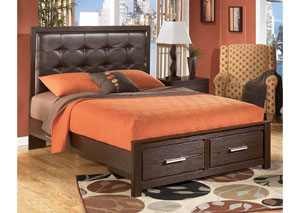 Aleydis Queen Upholstered Storage Bed