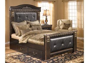 Coal Creek King Mansion Storage Bed
