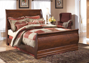 Wilmington Queen Sleigh Bed,Signature Design by Ashley
