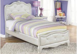 Zarollina Twin Upholstered Bed
