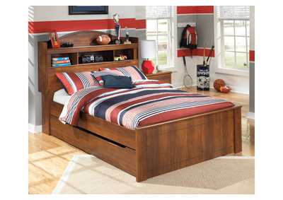 Barchan Full Bookcase Bed w/ Trundle