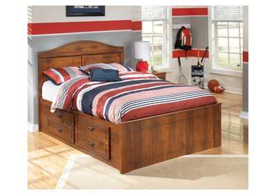 Barchan Full Panel Bed w/ Storage