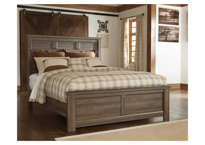 Juararo Queen Panel Bed,48 Hour Quick Ship