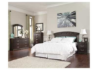 Vachel Queen/Full Panel Headboard, Dresser, Mirror, Chest & Night Stand,Signature Design by Ashley