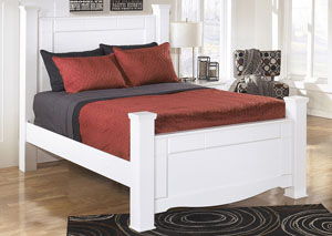 Weeki Queen Poster Bed,Signature Design by Ashley
