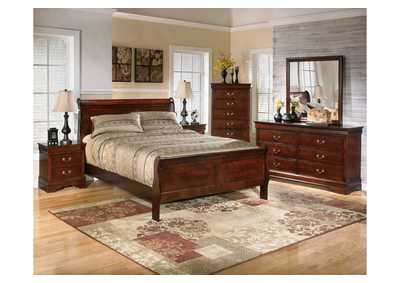 Alisdair Queen Sleigh Bed, Dresser, Mirror & Chest