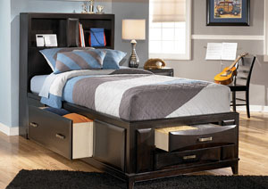 Kira Twin Storage Bed