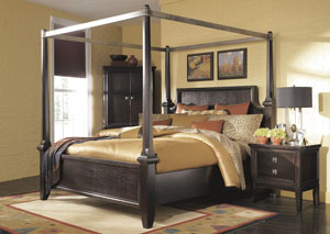 Martini Suite Queen Poster Bed