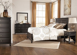 Owingsville Queen Panel Bed, Dresser & Mirror