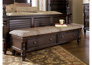 Key Town Bedroom Storage Bench