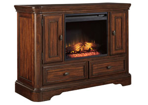 Leximore Media Chest w/ LED Fireplace Insert