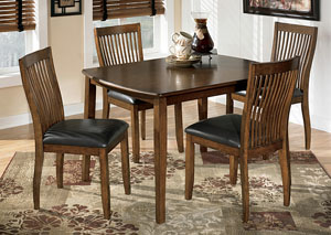 Stuman Dining Table w/ 4 Chairs