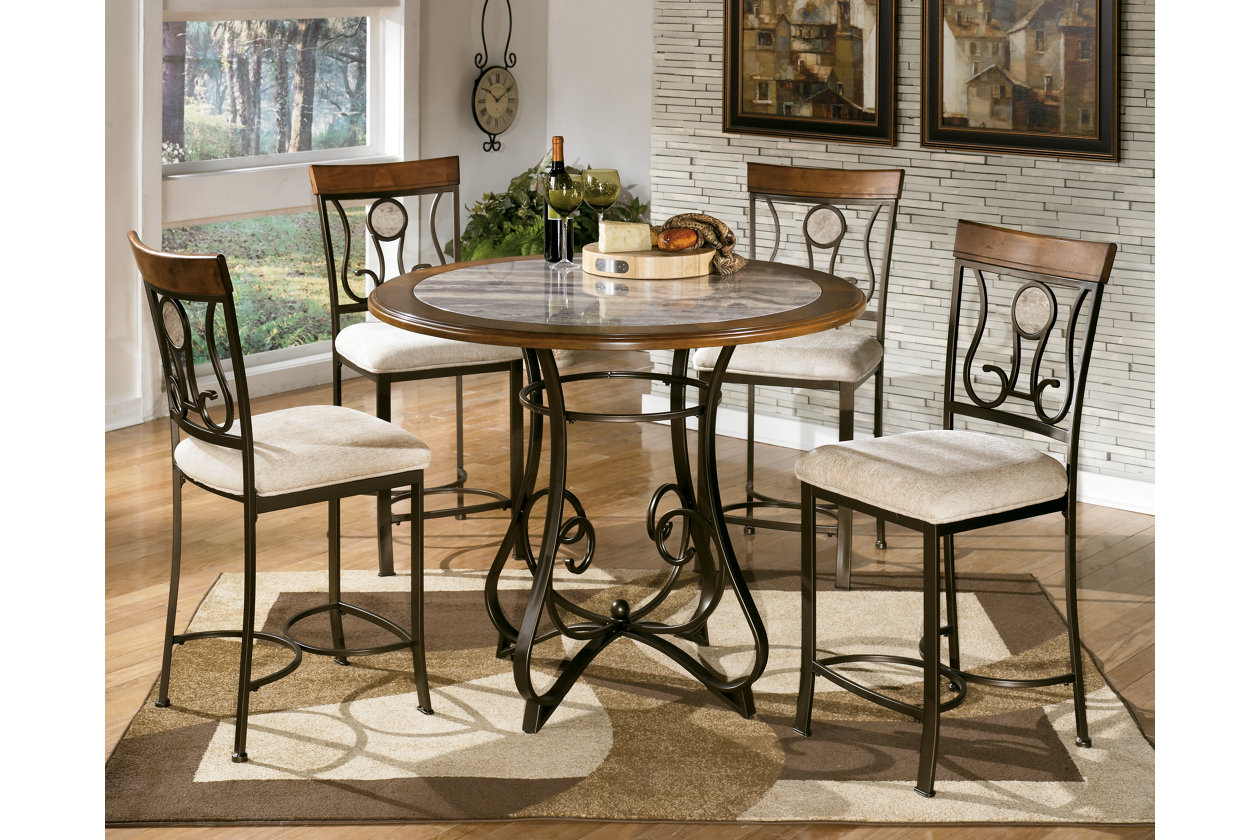Hopstand Counter Height Dining Table w/ 4 Barstools