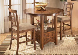Cross Island Oval Counter Extention Table,Ashley