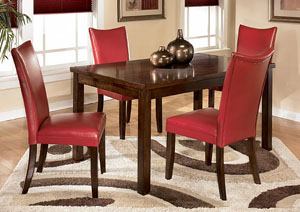 Charrell Red Side Chairs (Set of 2),ABF Signature Design by Ashley