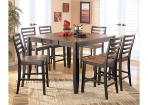 Alonzo Counter Height 7-Piece Pub Set