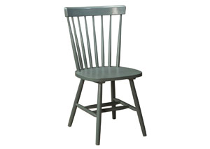 Bantilly Light Blue Dining Chair (Set of 4)