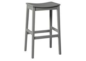 Bantilly Gray Tall Stool (Set of 2)