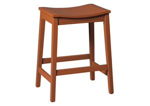 Bantilly Red Stool (Set of 2)