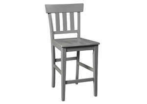 Bantilly Gray Barstool (Set of 2)