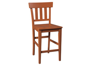 Bantilly Red Barstool (Set of 2)