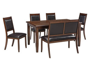 Meredy Brown Dining Room Table Set,Signature Design by Ashley
