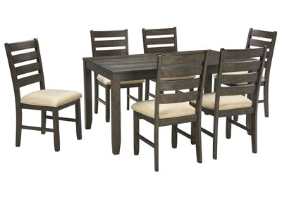 Rokane Brown Dining Room Table Set,Signature Design by Ashley