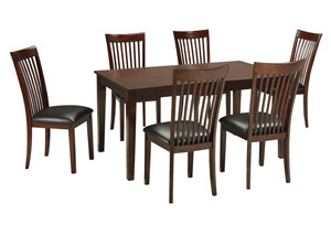 Mallenton Dining Room Table Set (Table & 6 Chairs),Signature Design by Ashley