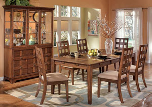 Clifton Park Dining Table w/ 4 Side Chairs