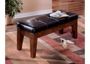 Larchmont Large Upholstered Bench,Signature Design by Ashley