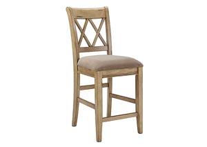 Mestler Upholstered Barstool (Set of 2)
