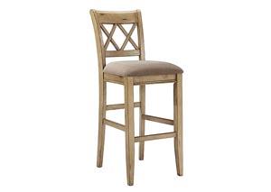 Mestler Tall Upholstered Barstool (Set of 2)