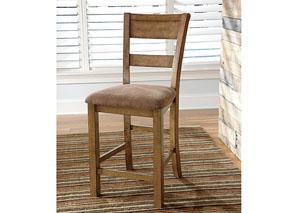 Krinden Upholstered Barstool (Set of 2)