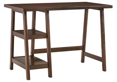 Lewis Medium Brown Home Office Small Desk,Signature Design by Ashley