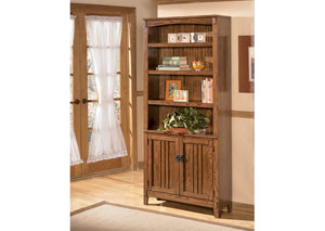 Cross Island Large Door Bookcase,Signature Design by Ashley