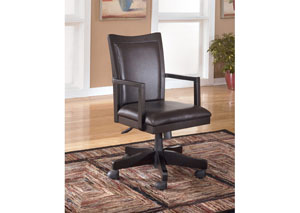 Carlyle Arm Chair w/ Swivel & Adjust Height,Signature Design by Ashley