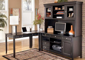 Carlyle Corner L-Shape Desk ,Signature Design by Ashley