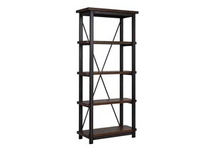 Gavelston Black Large Bookcase