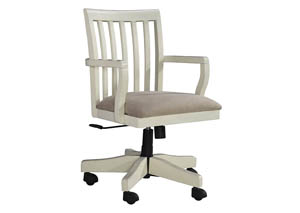 Sarvanny Two-tone Home Office Desk Chair,Signature Design by Ashley